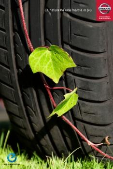 Prodotto Ambientato Nissan Leaf (Progetto Universitario)